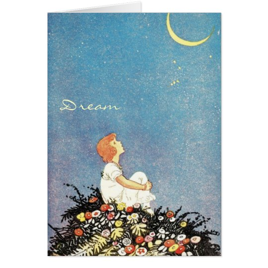 Dream Moon Wishes Card