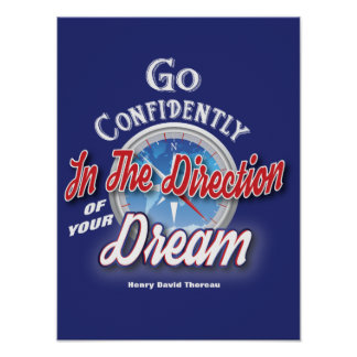 Dream - Motivational Typography Poster