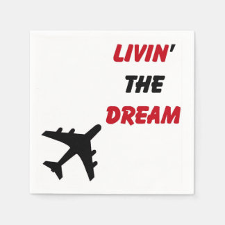 Dream 'n Drink or Eat Disposable Napkin