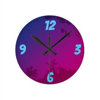 DREAM NATURE ROUND CLOCK