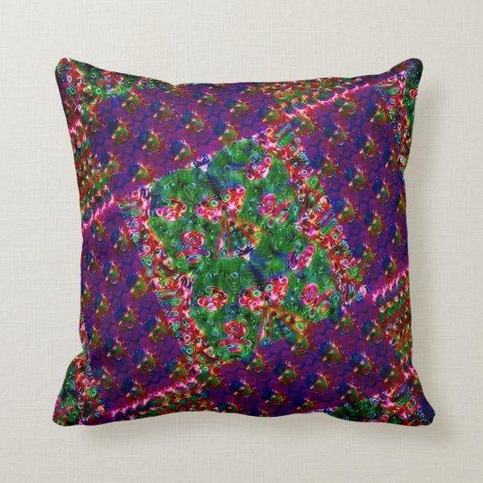Dream neon throw pillow
