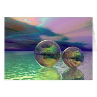 Dream ocean card