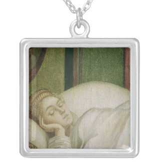 Dream of St. Ursula, 1495 Silver Plated Necklace