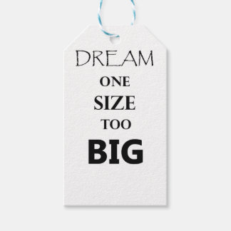 dream  one size gift tags