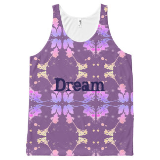 Dream pattern All-Over-Print tank top