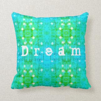 Dream pattern throw pillow
