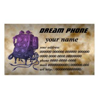 dream phone business card