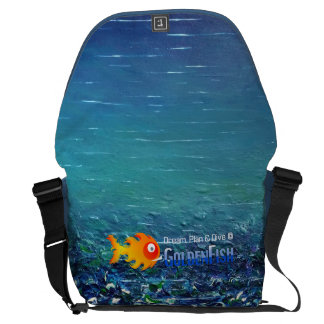 Dream, Plan & Dive © - Large Messenger Bag