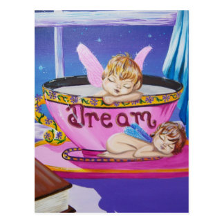 """Dream"" Precious Wings Fairy Postcard"