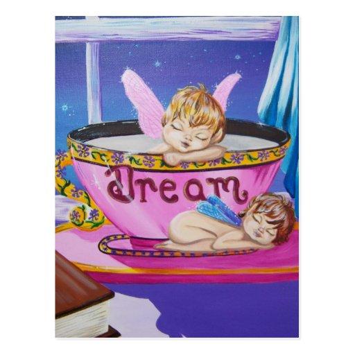 """Dream"" Precious Wings Fairy Postcard"