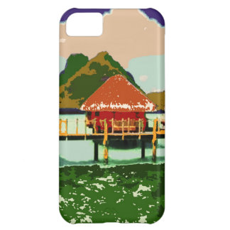 Dream Red Village Cottage iPhone 5C Case
