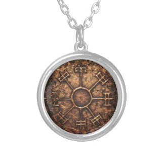 Dream Rune Silver Plated Necklace