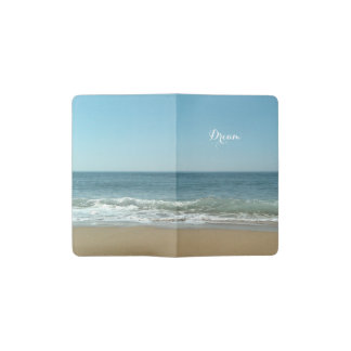 Dream Shore Custom Moleskin Journal Cover