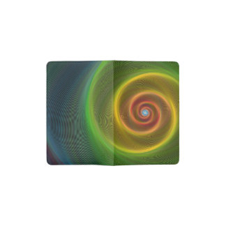Dream spiral pocket moleskine notebook