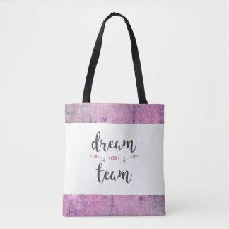 Dream Team Tribal Tote Bag