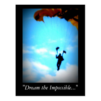 Dream the Impossible Postcard