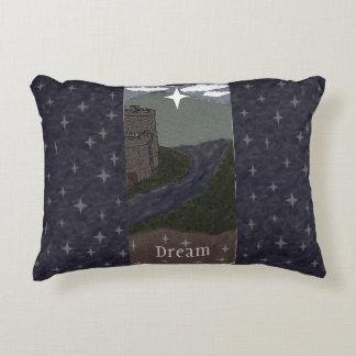 Dream Time Fairytale Castle Decorative Pillow