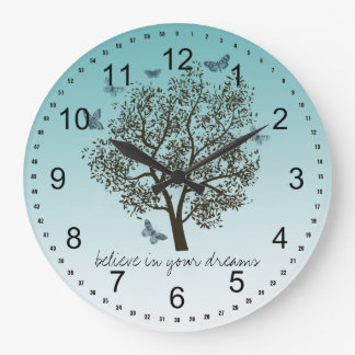 Dream Tree Large Clock