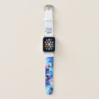 Dream. Try. Do Good. Apple Watch Band