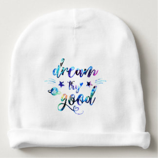 Dream. Try. Do Good. Baby Beanie