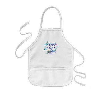 Dream. Try. Do Good. Kids Apron
