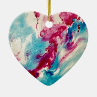 Dream Visions Ceramic Heart Ornament