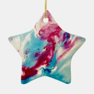 Dream Visions Ceramic Star Ornament