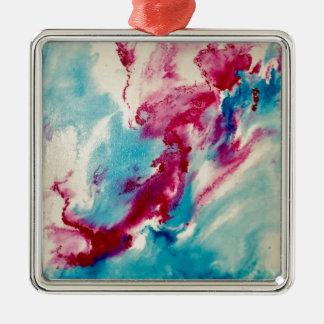 Dream Visions Silver-Colored Square Ornament