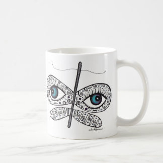 Dream with your eyes wide open. coffee mug