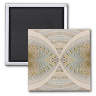 Dream Within A Dream Abstract Chevron Pattern Magnet
