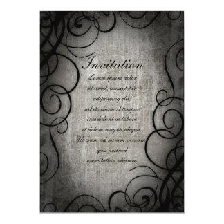"Dream Within A Dream Coordinates 5"" X 7"" Invitation Card"