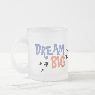 DrEAmbIg Frosted Glass Coffee Mug
