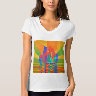 Dreamboat - Cubist Junk In Primary Colors T-Shirt