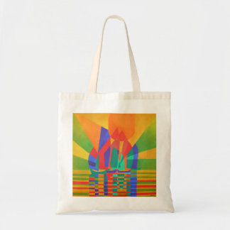 Dreamboat - Cubist Junk In Primary Colors Tote Bag