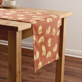 DreamCat Pastel Peach/Orange Short Table Runner