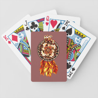 Dreamcatcher 2 bicycle playing cards