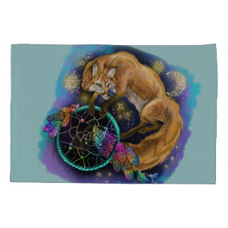 Dreamcatcher Fox Pillowcase