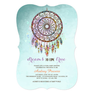 Dreamcatcher Invitation