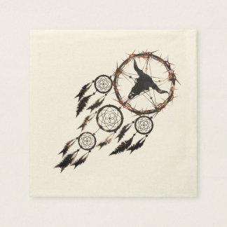 Dreamcatcher - Pentagram Paper Napkin