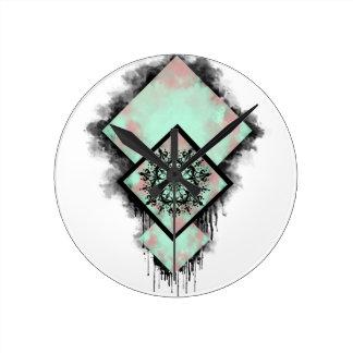 Dreamcatcher Round Clock