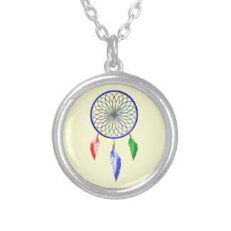 dreamCatcher Silver Plated Necklace