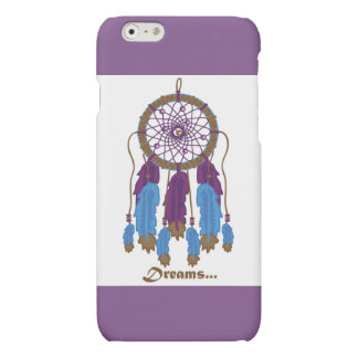 Dreamcatcher with purple background i-phone 6 case
