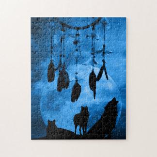 Dreamcatcher Wolves Puzzle