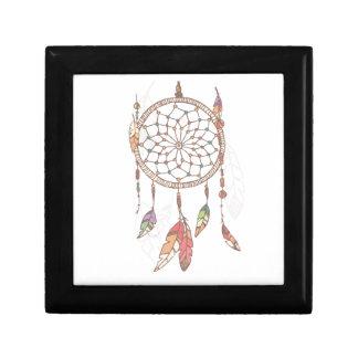 Dreamcatcher Wooden Jewelry Keepsake Box