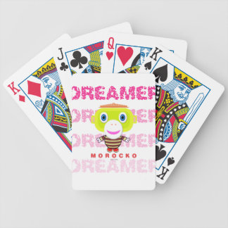 Dreamer-Cute Monkey-Morocko Bicycle Playing Cards