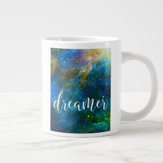 Dreamer Nebula Galaxy Coffee Large Coffee Mug