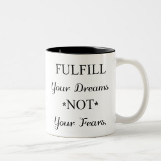 Dreamer Two-Tone Coffee Mug