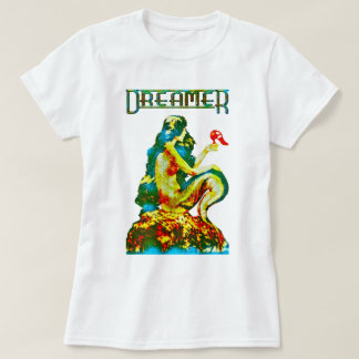 Dreamer ~ Vintage Mermaid Re-Designed by Aleta T-Shirt