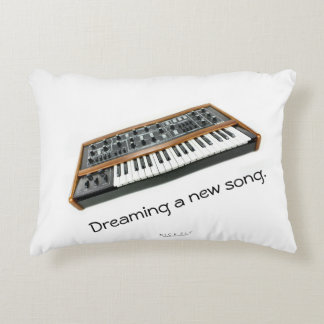 Dreaming a new song decorative pillow