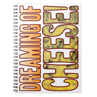 Dreaming Blue Cheese Notebook